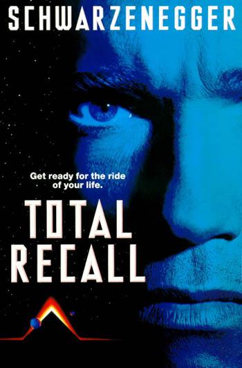 Total Recall - Poster de 1990