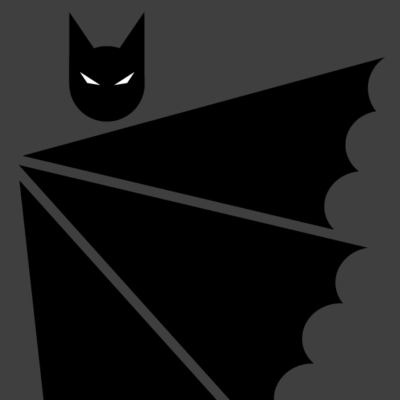 Batman pictograma