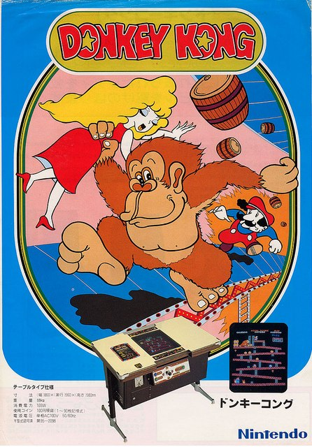 videogame Donkey kong
