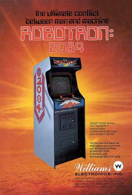 videogame robotron