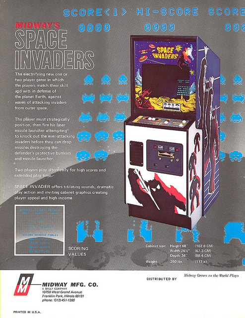 videogame space invaders