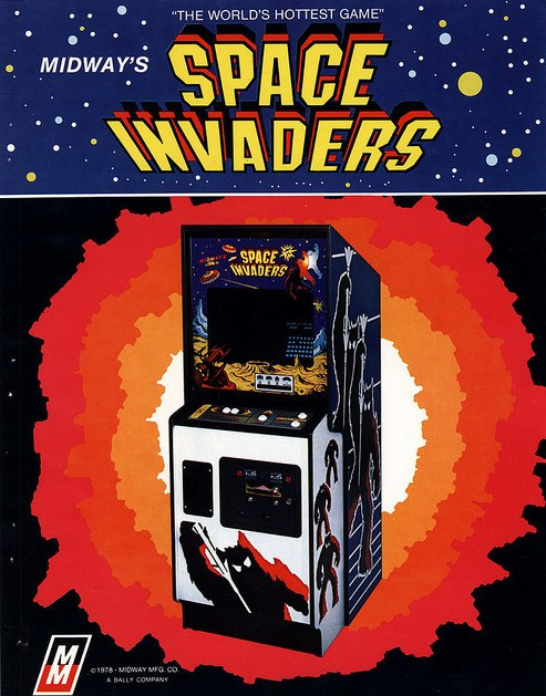 space invaders videogame