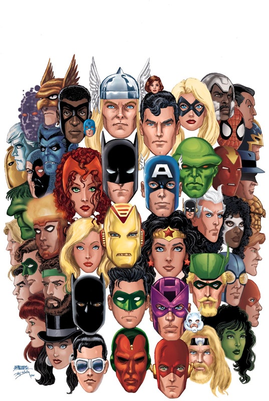 dc comics marvel super herois