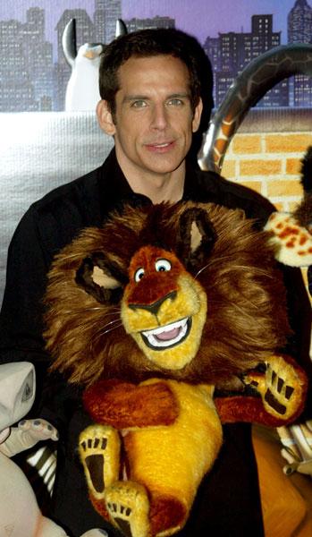 Ben Stiller with Alex