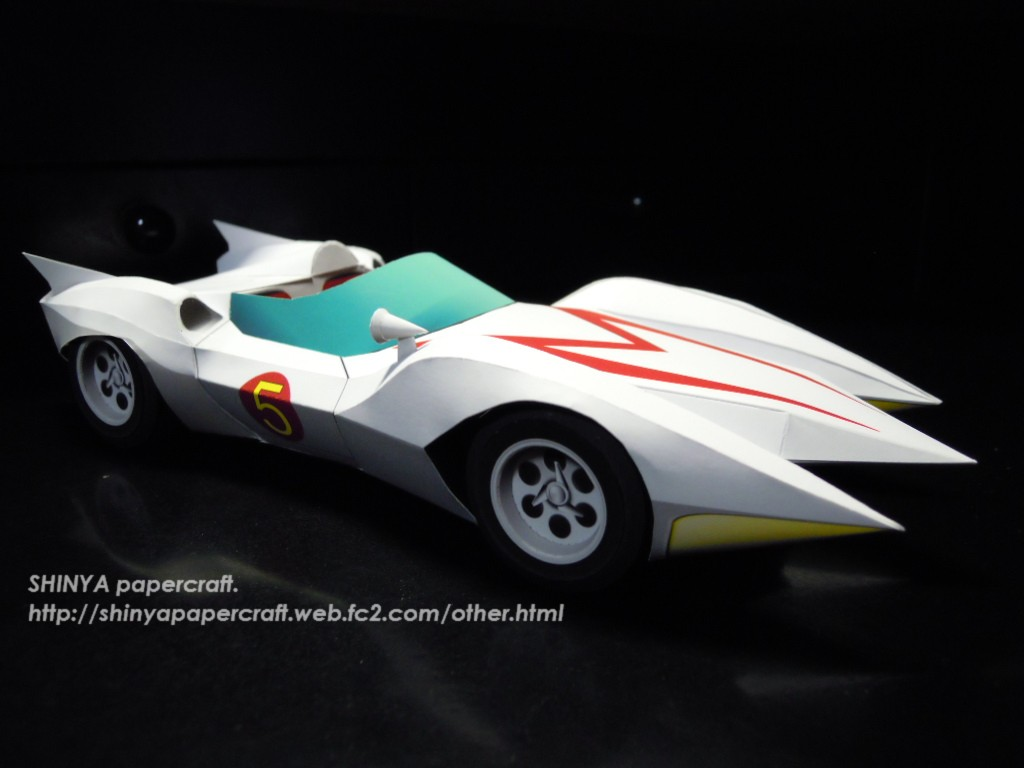 speed racer match 5 papercraft
