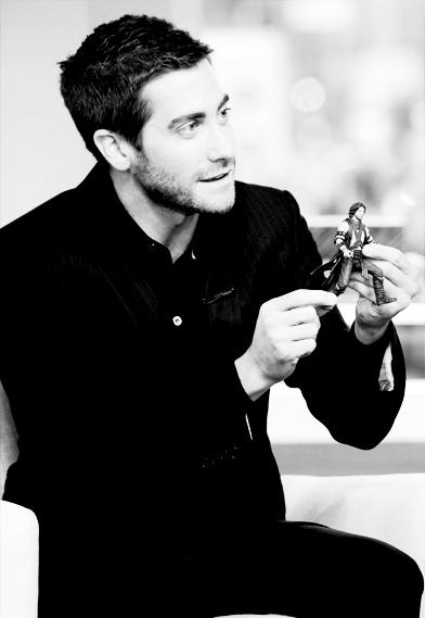 Jake Gyllenhaal with Dastan