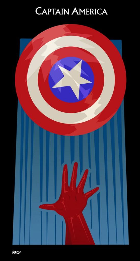 Matt Ferguson Avengers vingadores capitao america