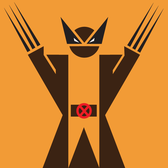 wolverine pictograma