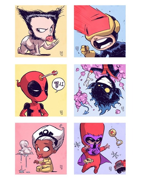 X-Babies nerdpai