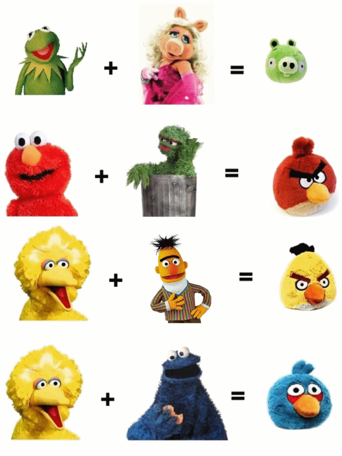 Angry Birds - Muppets