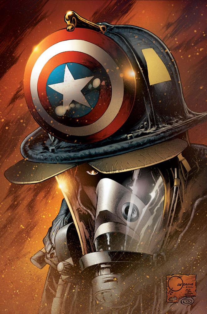 bombeiro capitao america
