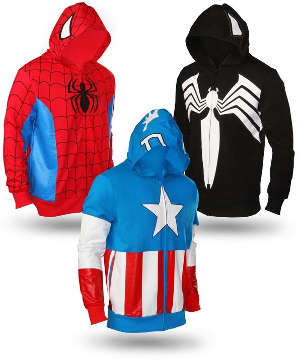 casacos super herois nerdpai