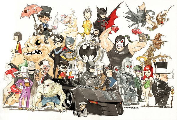 DC Comics super heróis