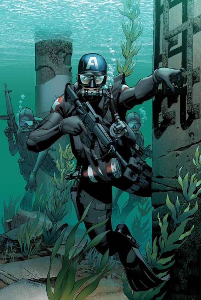 marine capitao america