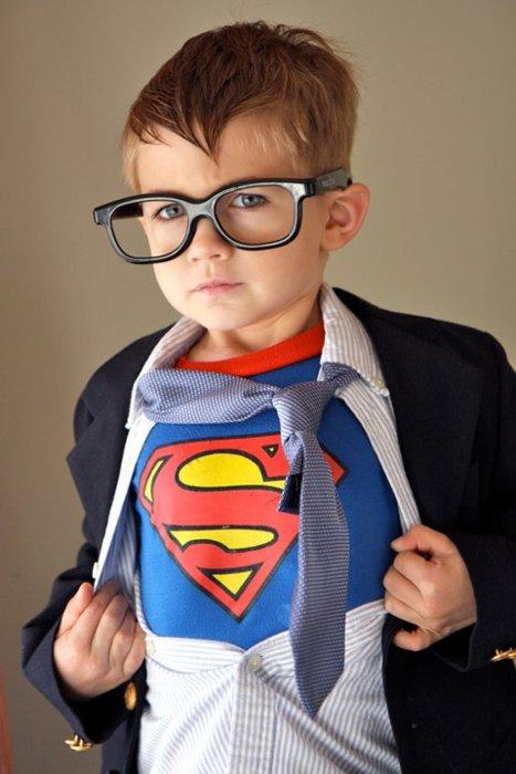 pequeno superman nerdpai