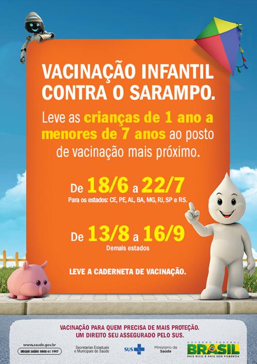 Vacinação Infantil Contra o Sarampo