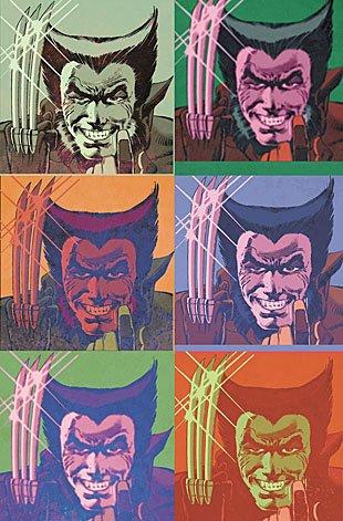 Andy Warhol Wolverine