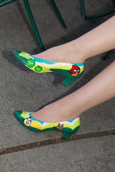 Angry Birds sapato