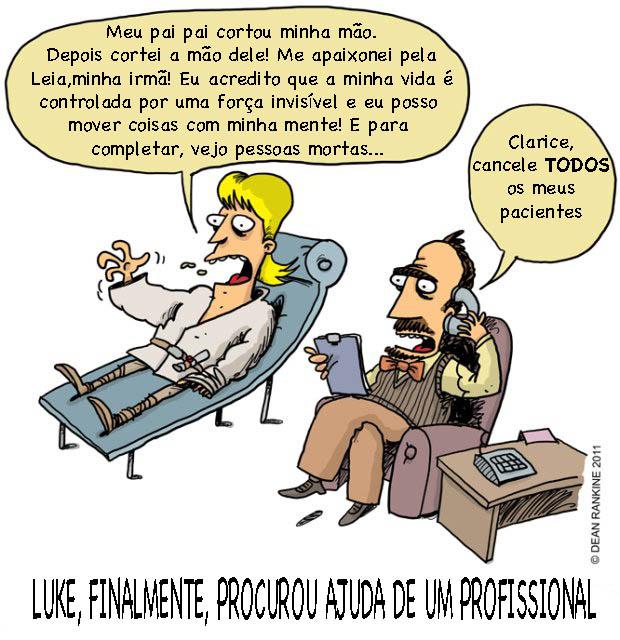 Luke NO PSICOLOGO