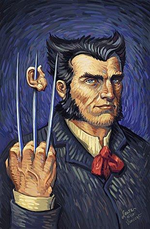 Vincent van Gogh wolverine