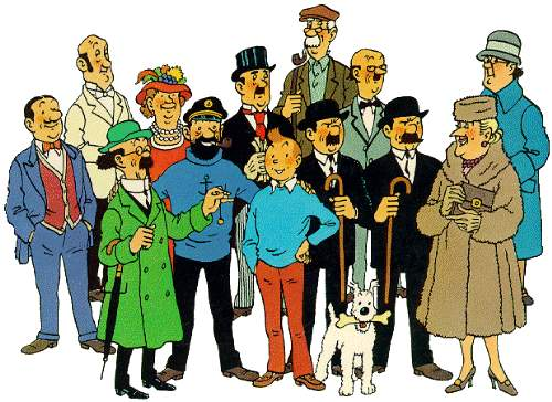 as aventuras do tintin