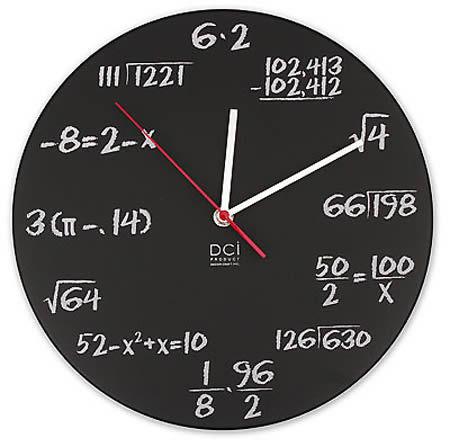 relógio nerd