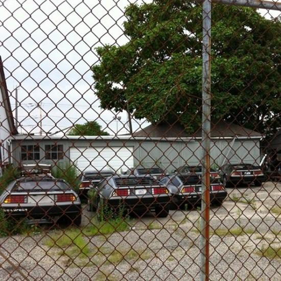 DeLorean - estacionamentos