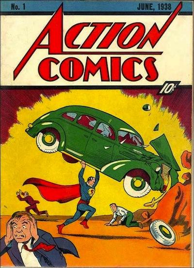 capa primeiro 1 superman