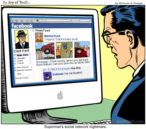 superman facebook
