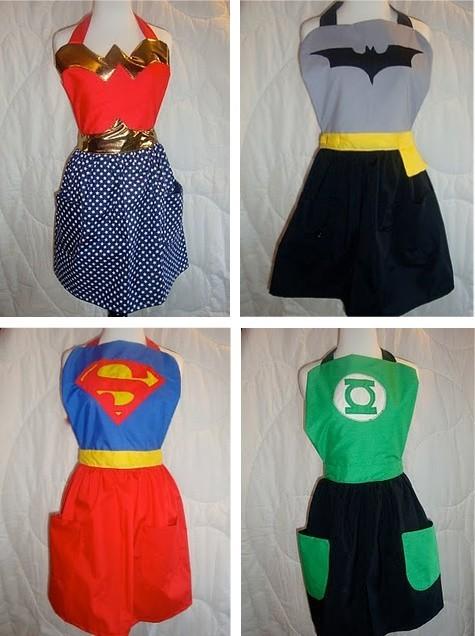 vestido super heróis