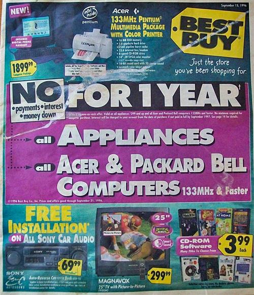 Best Buy em 1996 2