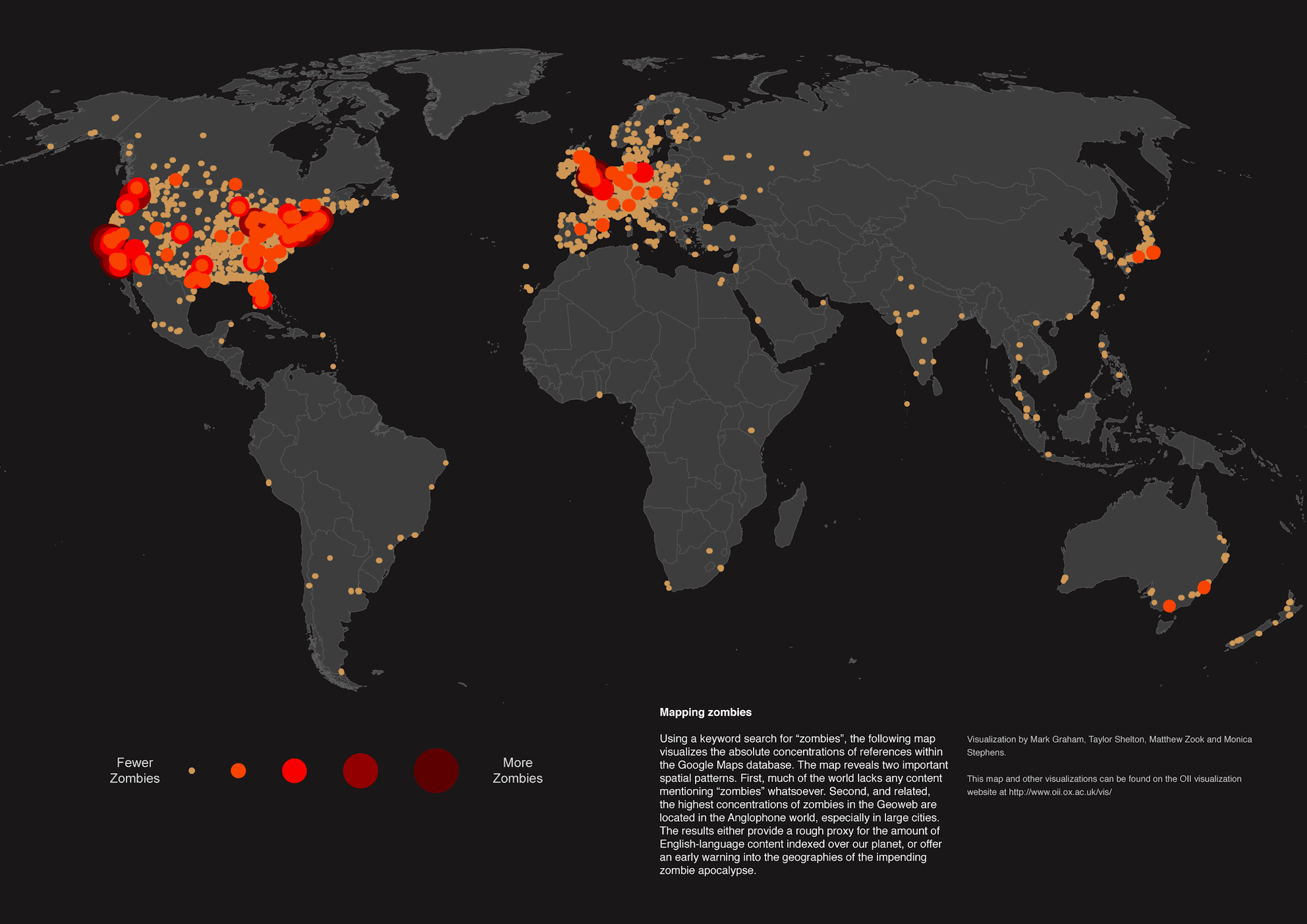 Mapa de Zumbis