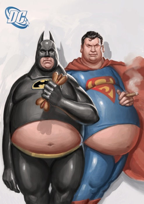 Batman e Superman Americanos