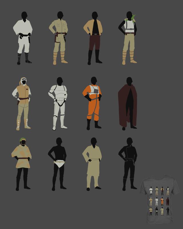 Os muitos estilos de Luke Skywalker