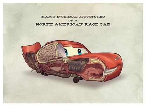 Anatomia de Cars