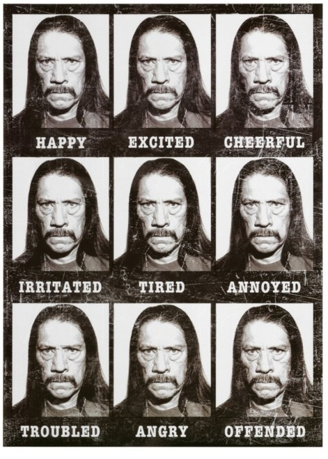 As interpretações de Danny Trejo