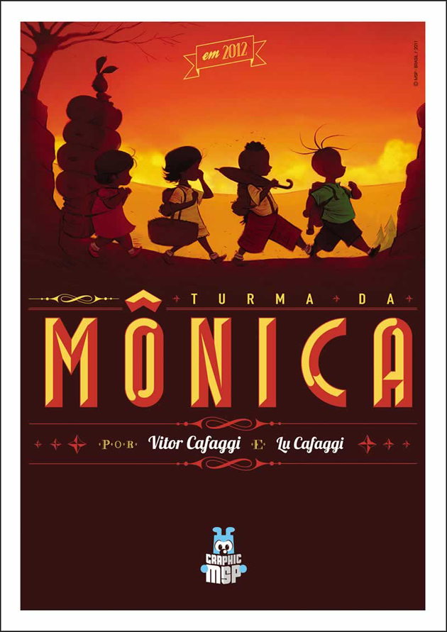 Graphic Novel da Turma da Mônica - @mauriciodesousa 1
