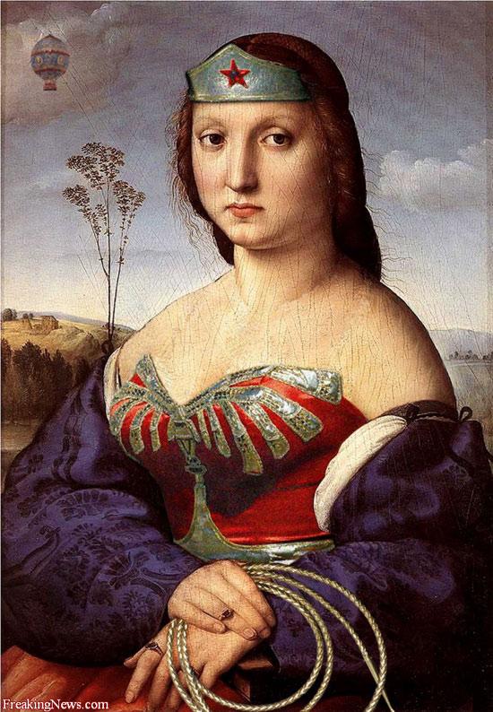 Mulher-Maravilha Renascentista