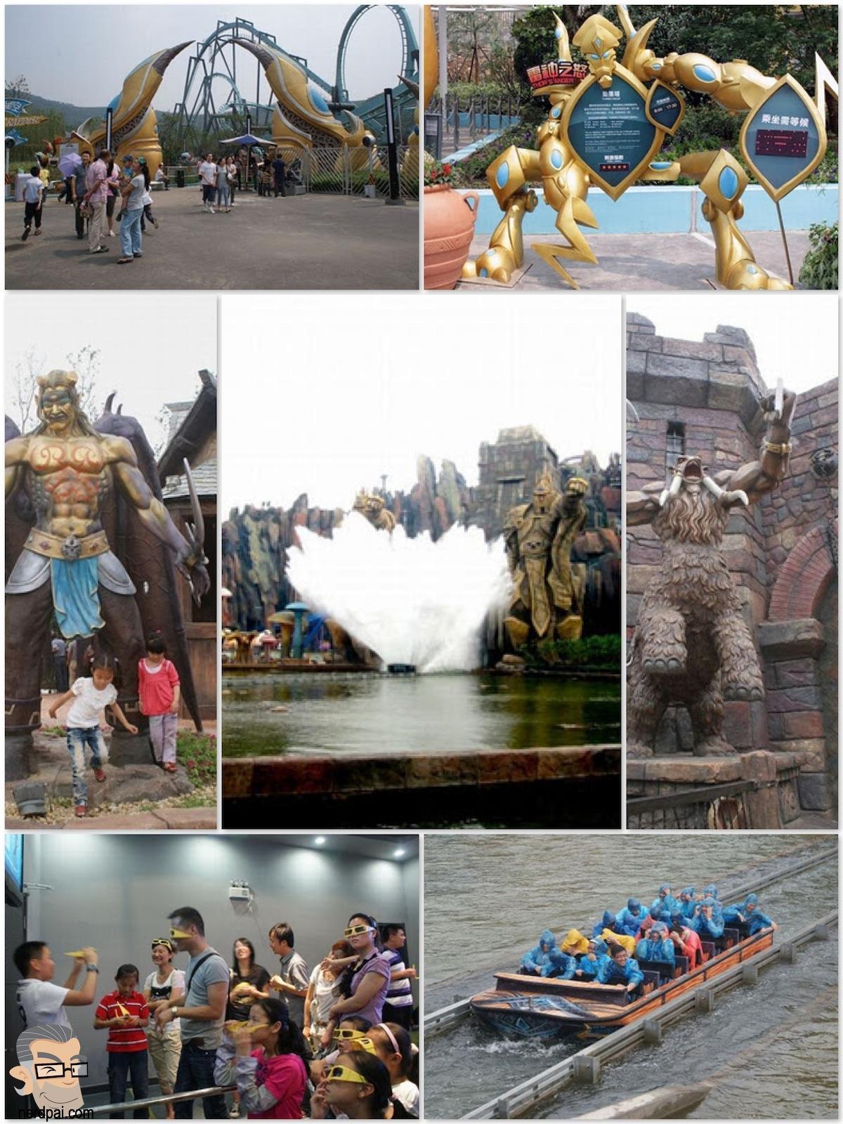 Parque Temático do WorldCraft