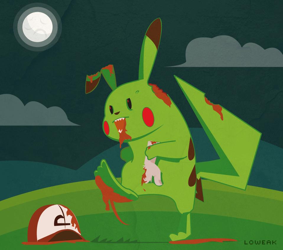 Pikachu Zumbi