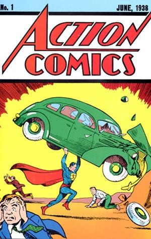action comics numero 1 1938 junho superman