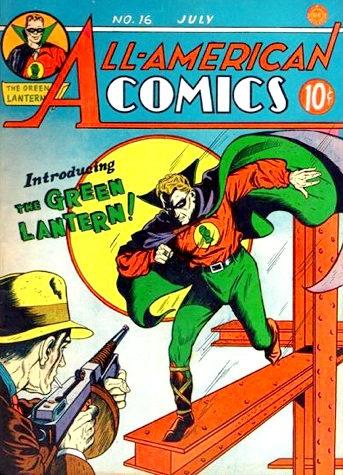 lantera verde 16 all american comics