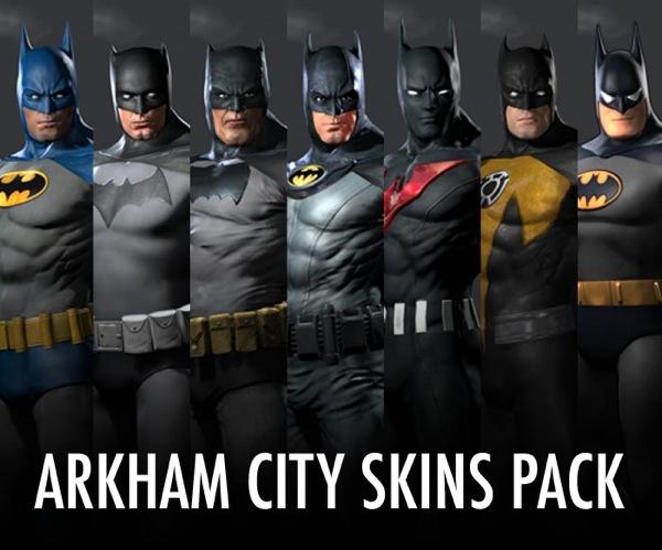 Batman: Arkham City Skins