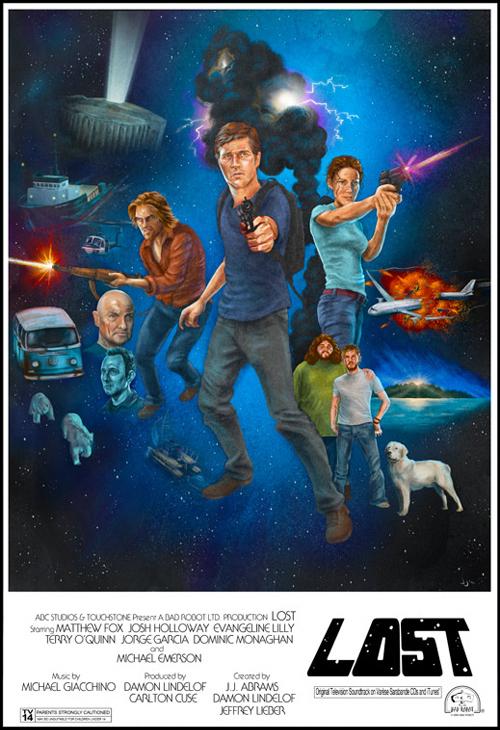 Star Wars encontra Lost 01 poster