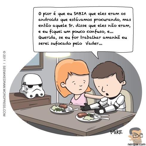 Stormtroopers e seus problemas