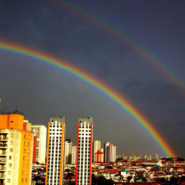 arco-íris double duplo