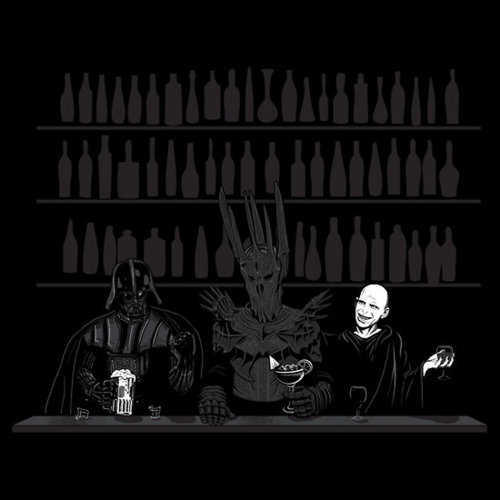 A happy hour de três Dark Lord