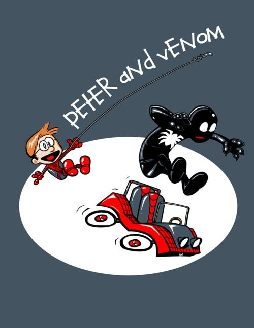 Calvin e Haroldo - Peter e Venom