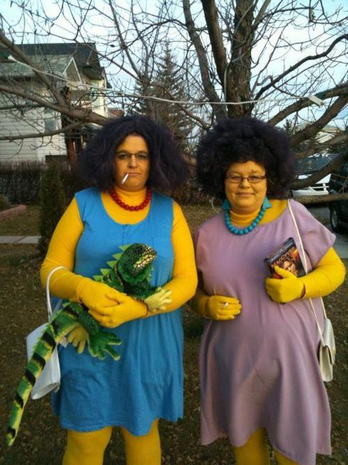 Cosplay Patty e Selma Bouvier - The Simpsons
