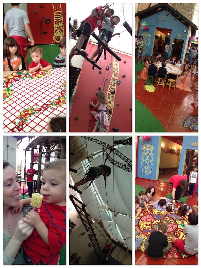 Festa Infantil - Casa Tupiniquim